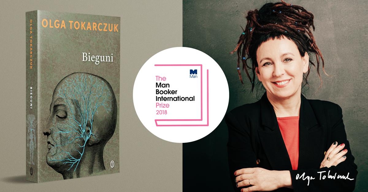 """Olga Tokarczuk, """"Bieguni"""" (źródło: materiały prasowe wydawnictwa)"""