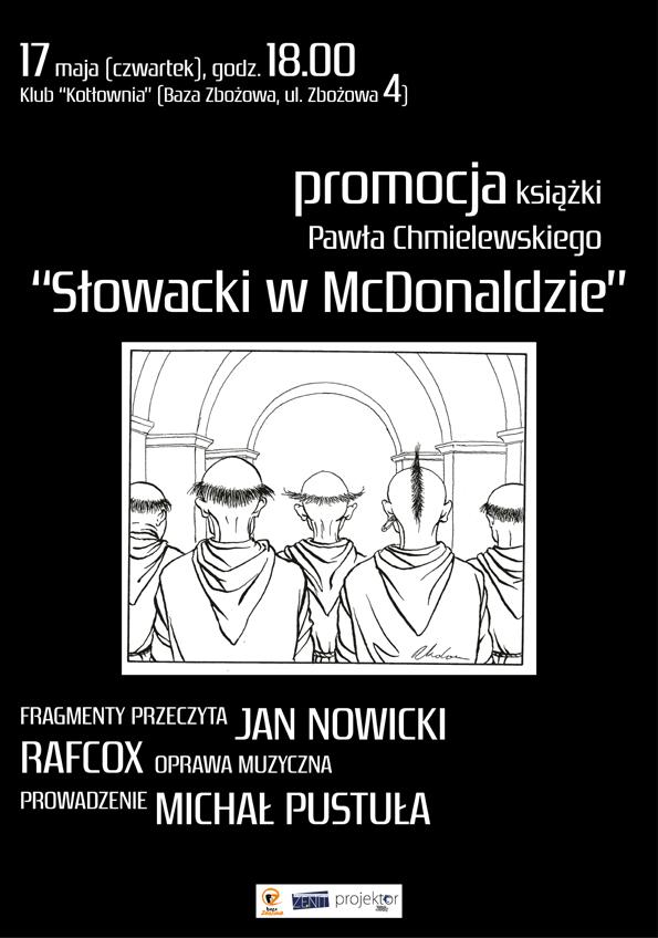 """Paweł Chmielewski, """"Słowacki w McDonaldzie"""" (źródło: materiały prasowe wydawcy)"""