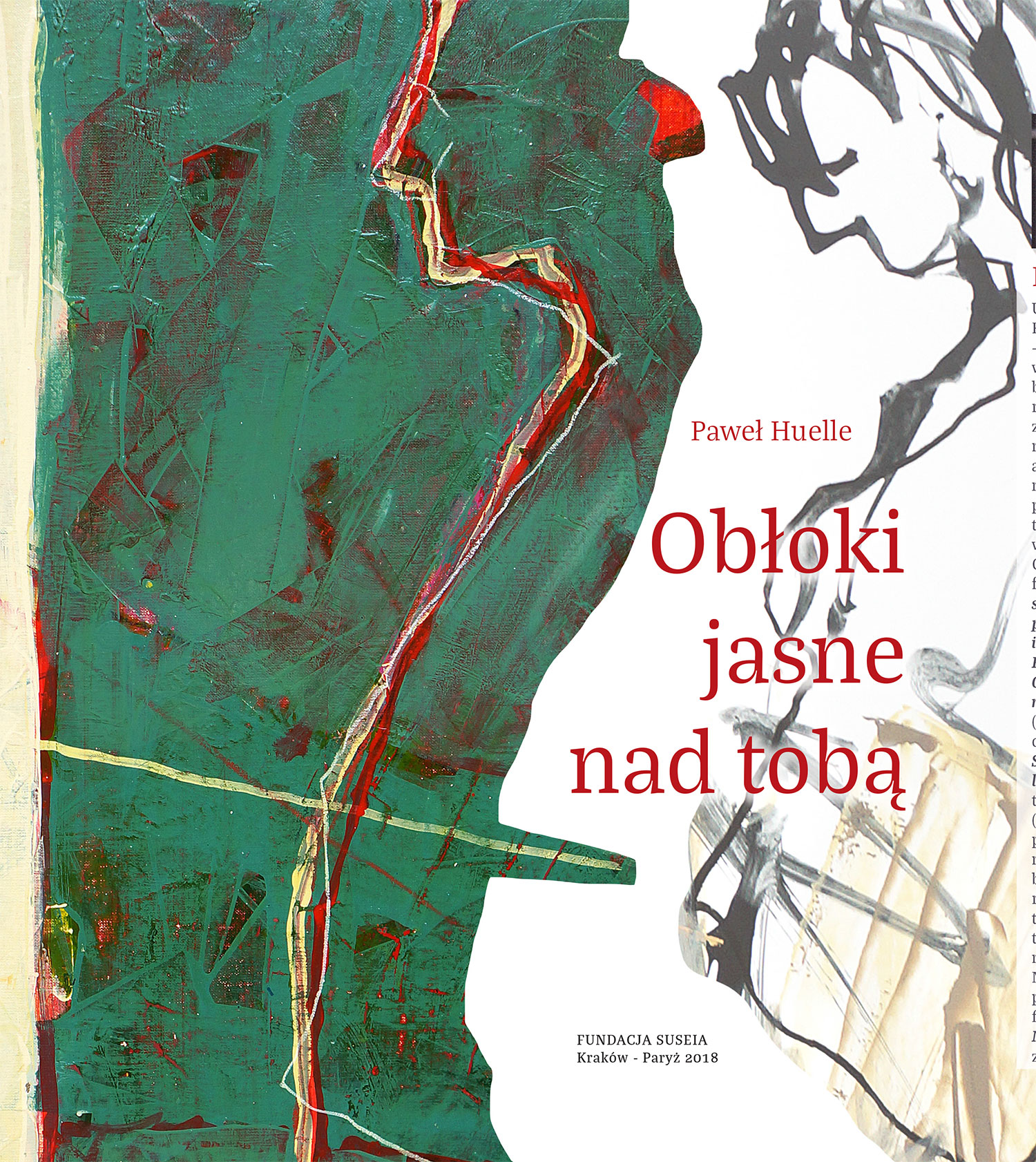 """Paweł Huelle, """"Obłoki jasne nad tobą"""" (źródło: materiały prasowe)"""