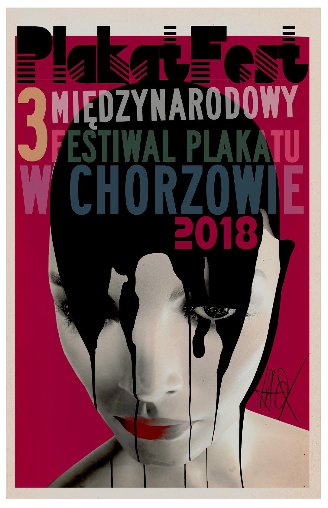 Plakat III Międzynarodowego Festiwalu Plakatu PlakatFest (źródło: materiały prasowe organizatora)