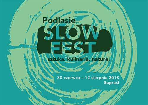 Podlasie Slow Fest, plakat (źródło: materiały prasowe organizatora)