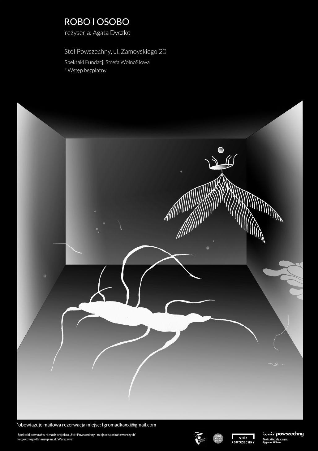 """Tomasz Gromadka, """"Robo i Osobo"""", reż. Agata Dyczko (źródło: materiał prasowe teatru)"""
