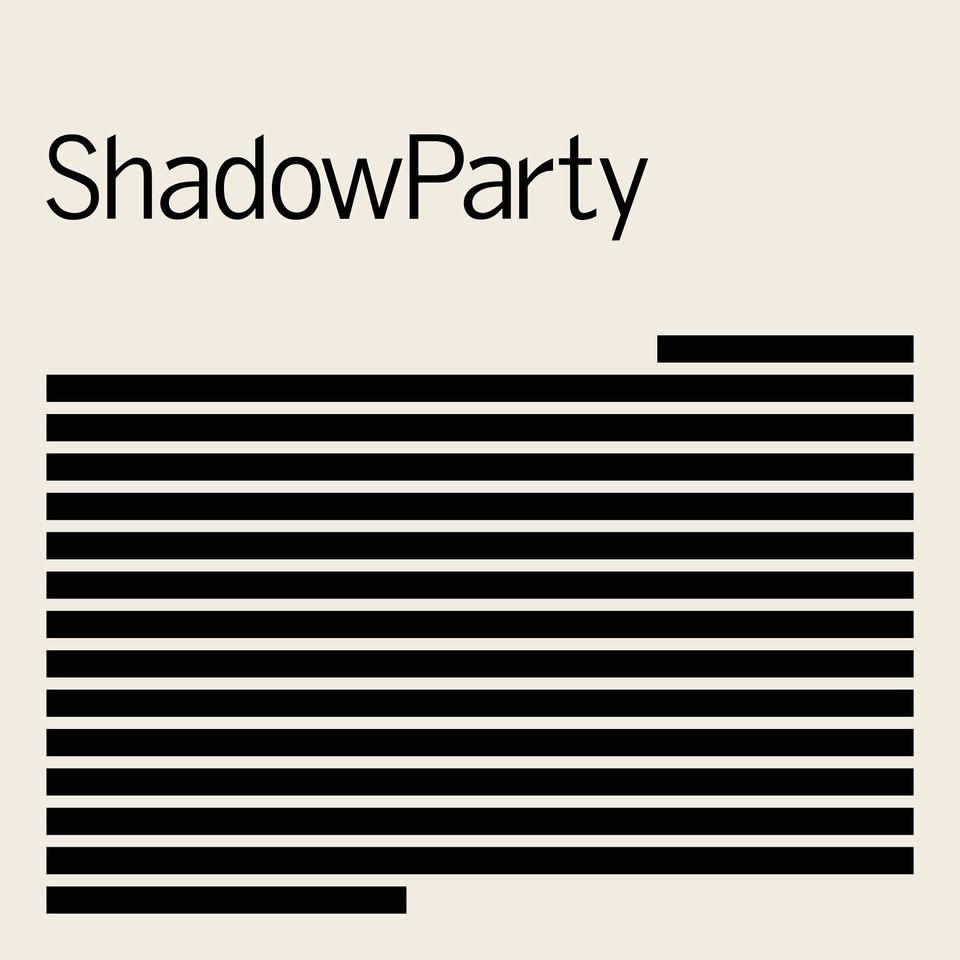 """ShadowParty, """"ShadowParty"""" – okładka płyty (źródło: materiały prasowe wytwórni)"""
