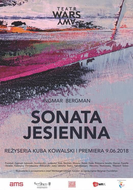 """Ingmar Bergman """"Sonata Jesienna"""" reż. Kuba Kowalski (źródło: materiały prasowe organizatora)"""