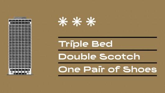 """""""Triple Bed, Double Scotch, One Pair of Shoes"""" (źródło: materiały prasowe organizatora)"""