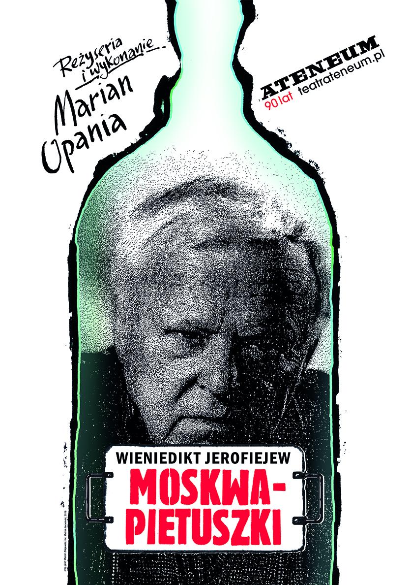 """Wieniedikt Jerofiejew, """"Moskwa–Pietuszki"""" (źródło: materiały prasowe teatru)"""