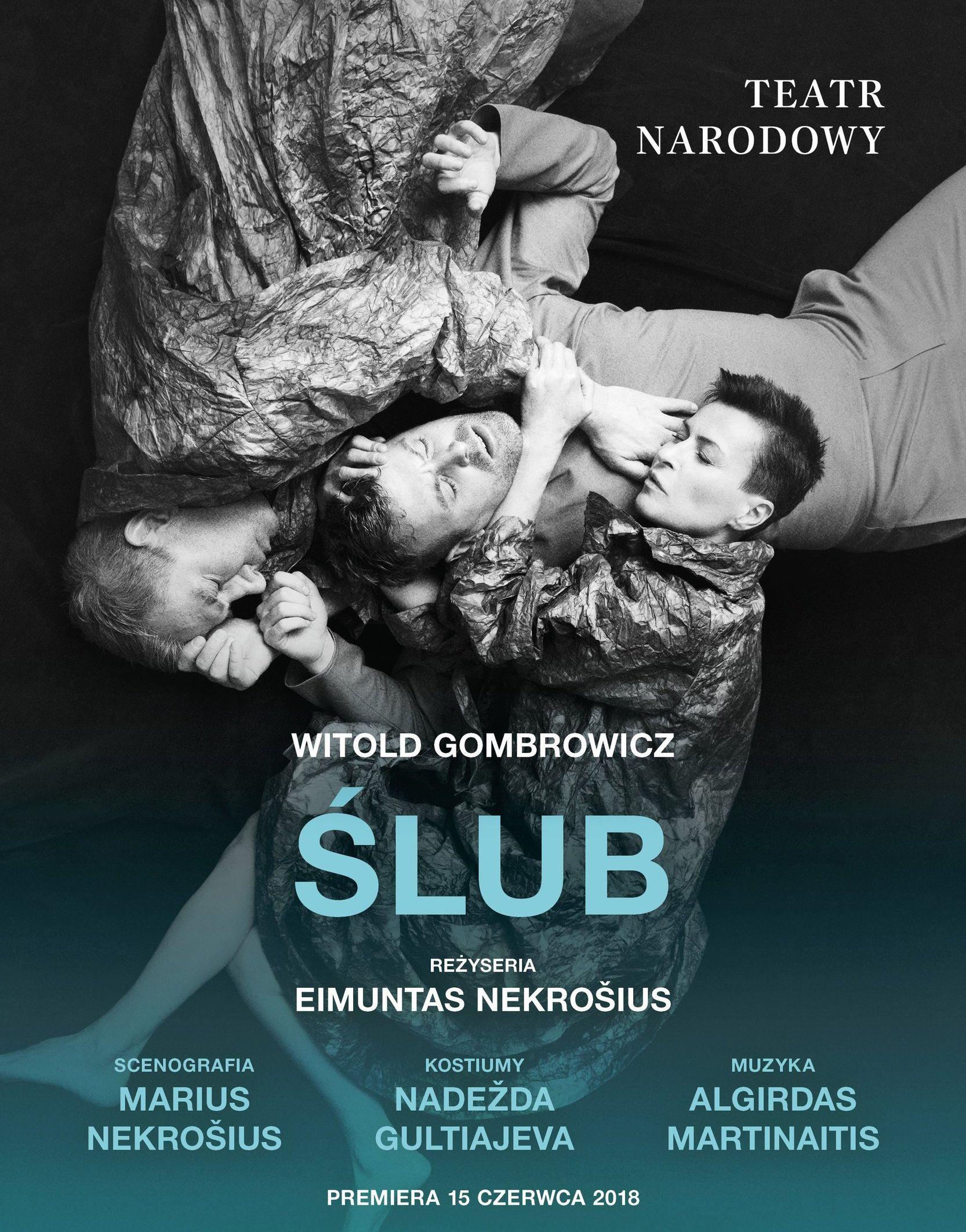 """Witold Gombrowicz, """"Ślub"""", reż. Eimuntas Nekrošius (źródło: materiały prasowe teatru)"""