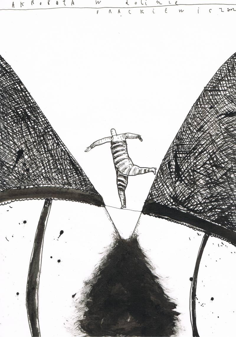 """Jacek Frąckiewicz, """"Akrobata"""" (źródło: materiały prasowe organizatora)"""