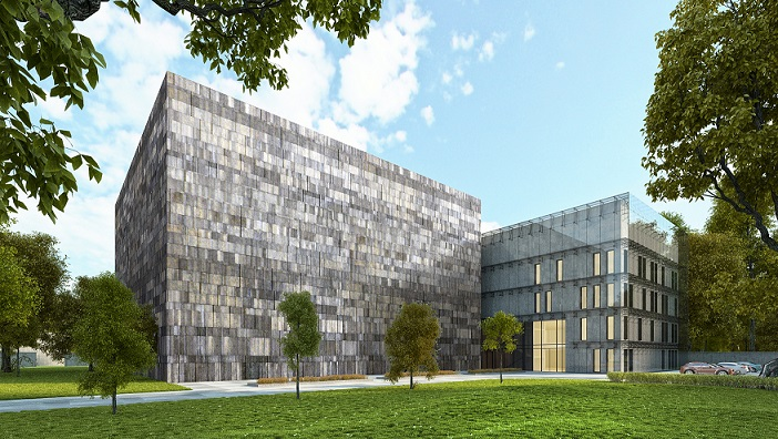 Archiwum Narodowe w Krakowie, wizualizacja nowej siedziby (źródło: materiały prasowe)