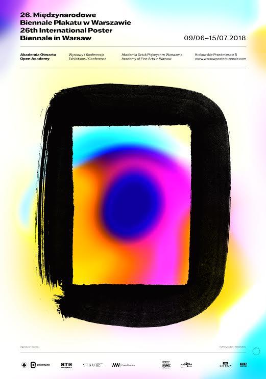 26. Biennale Plakatu w Warszawie, plakat (źródło: materiały prasowe organizatora)