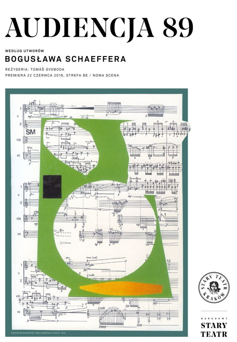 """Bogusław Schaeffer, """"Audiencja 89"""", reż. Tomáš Svoboda (źródło: materiały prasowe teatru)"""