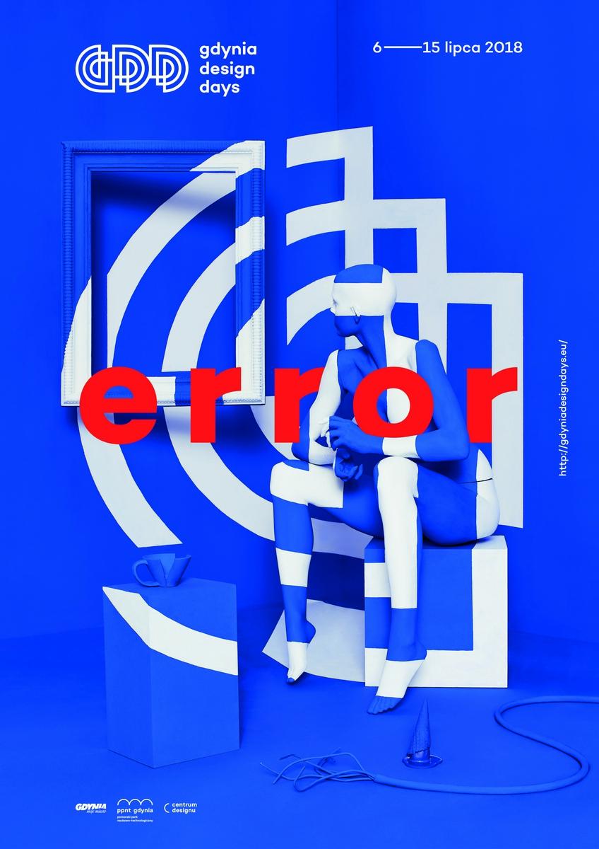 Gdynia Design Days 2018, plakat (źródło: materiały prasowe organizatora)
