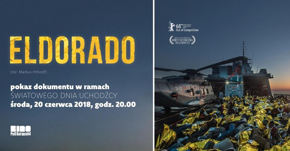 """""""Eldorado"""" reż. Markus Imhoof, plakat (źródło: materiały prasowe organizatora)"""