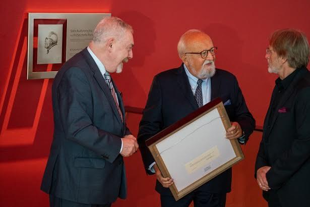 Krzysztof Penderecki, fot. Wojciech Wandzel (źródło: materiały prasowe)