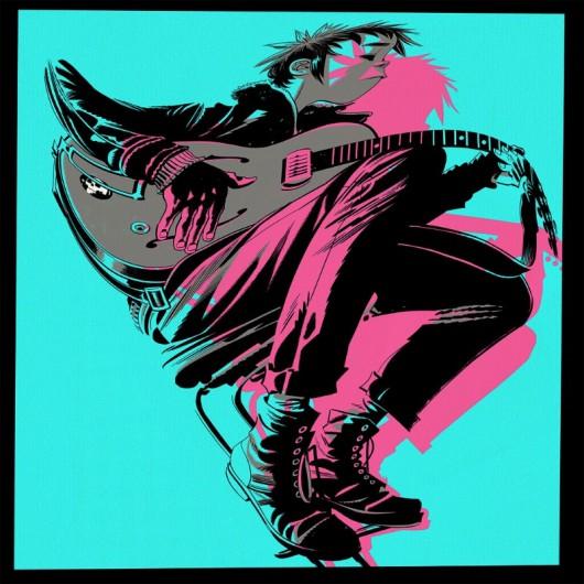 """Gorillaz, """"The Now Now"""" (źródło: materiały prasowe wydawcy)"""