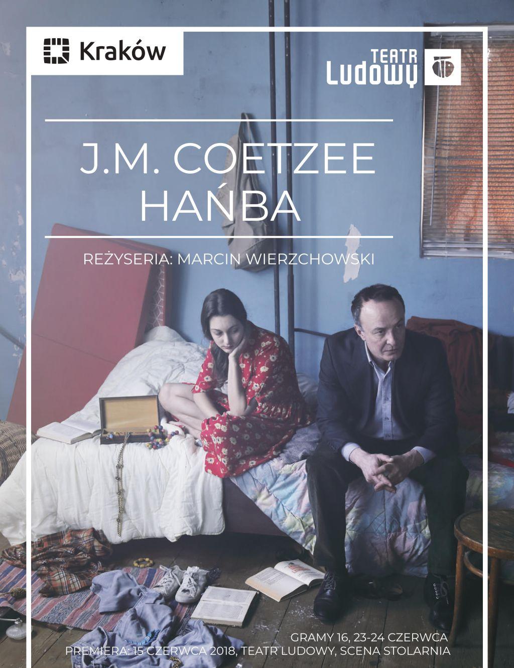 """John Maxwell Coetzee, """"Hańba"""", reż. Marcin Wierzchowski (źródło: materiały prasowe teatru)"""