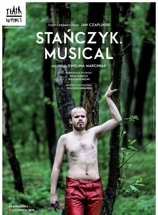 """Jan Czapliński, """"Stańczyk. Musical"""", reż. Ewelina Marciniak (źródło: materiały prasowe teatru)"""