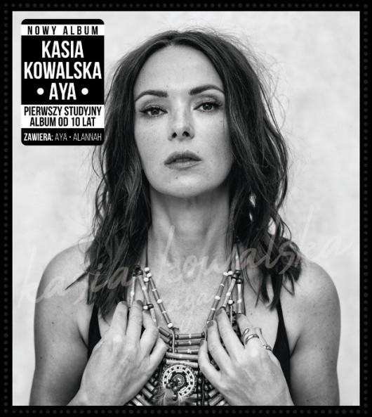"""Kasia Kowalska, """"Aya"""" (źródło: materiały prasowe wydawcy)"""