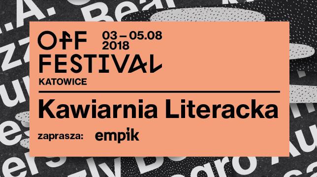 Kawiarnia Literacka na Off Festivalu (źródło: materiały prasowe organizatora)