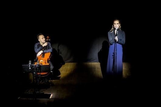 """""""Milczenie owiec"""", reż. Michał Pepol, Magdalena Cielecka, fot. Jarek Wierzbicki (materiały prasowe organizatora)"""