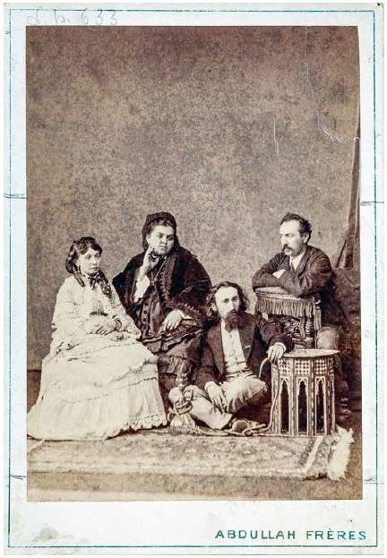 Matejkowie i Gropplerowie, fot. Atelier Bracia Abdullah, 1872 (źródło: materiały prasowe organizatora)