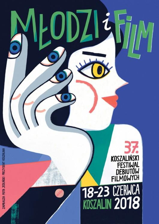 Festiwal Młodzi i Film, plakat (źródło: materiały prasowe organizatora)