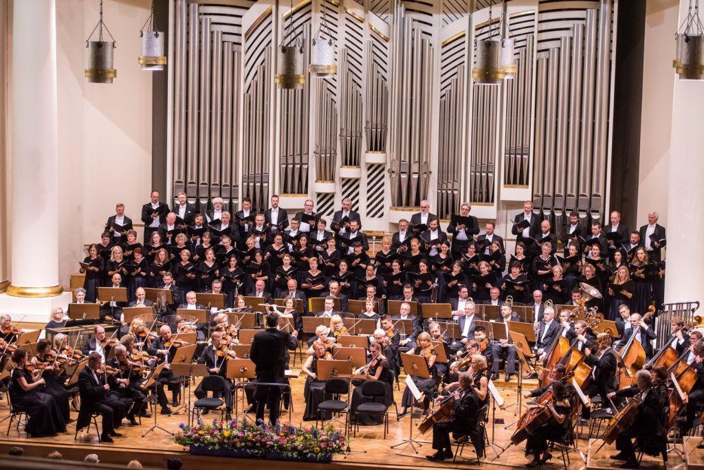 Orkiestra i Chór Filharmonii Krakowskiej, fot. K. Kalinowski (źródło: materiały prasowe organizatora)