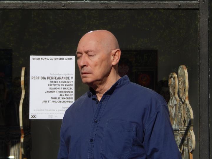 """Zygmunt Piotrowski, """"Perfidia Perfearance V"""", 2016 (źródło: materiały prasowe organizatora)"""