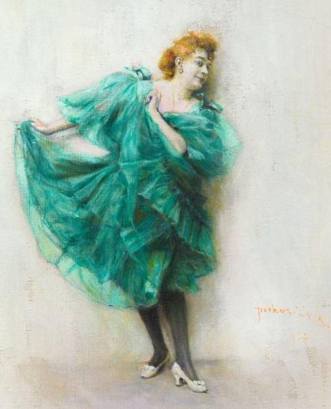 """Władysław Podkowiński, """"Tancerka (Baletnica)"""", olej na płótnie, 1894 r. (źródło: materiały prasowe organizatora)"""