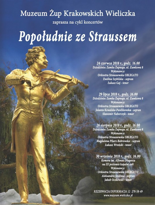 """""""Popołudnie ze Straussem"""" (źródło: materiały prasowe organizatora)"""