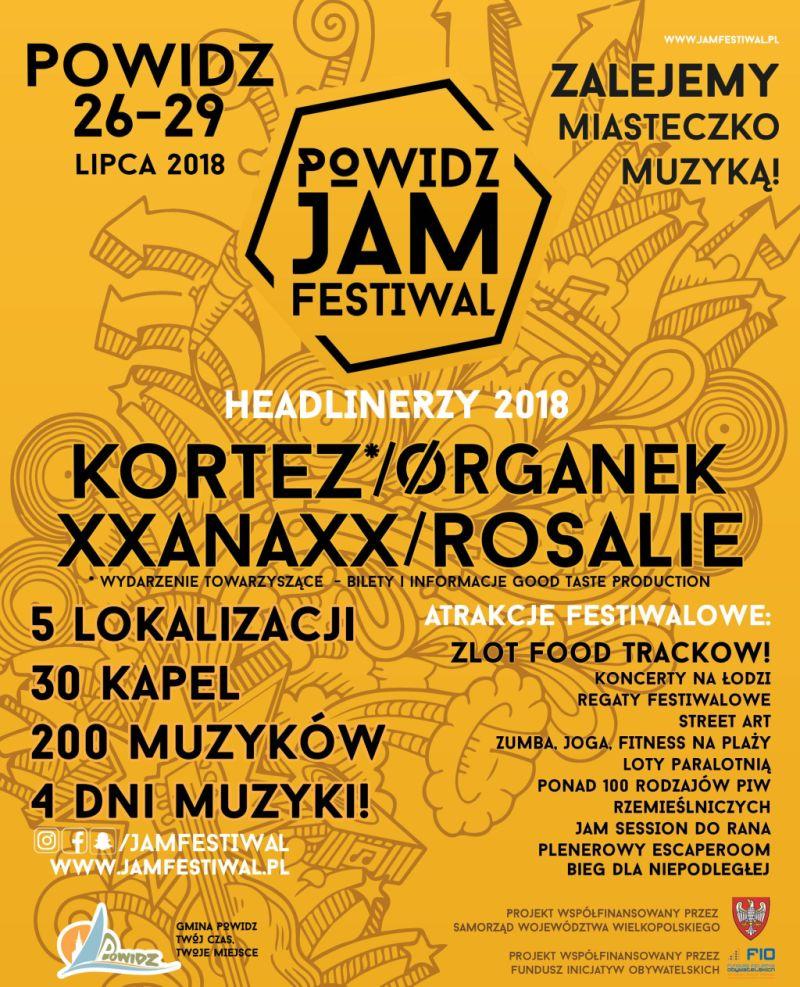 V Powidz Jam Festiwal (źródło: materiały prasowe organizatora)