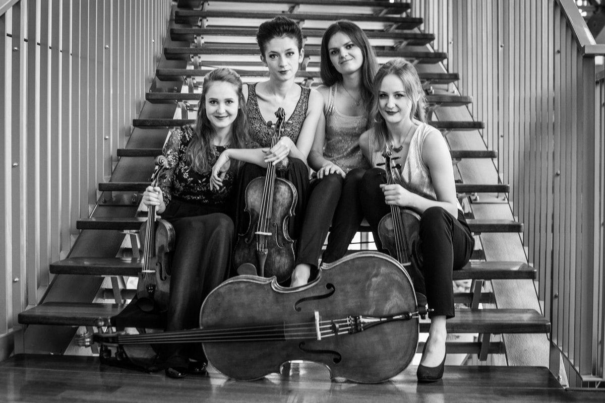 New Music Quartet fot. archiwum zespołu (źródło: materiały prasowe organizatora)