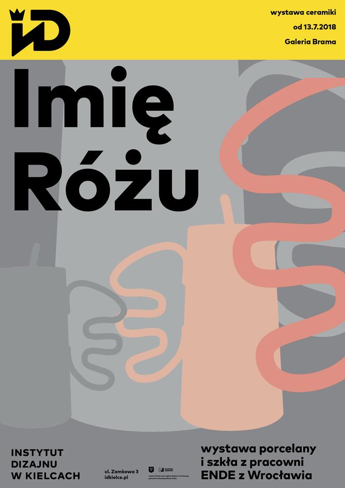 """""""Imię różu"""", Instytut Dizajnu w Kielcach (źródło: materiały prasowe organizatorów)"""