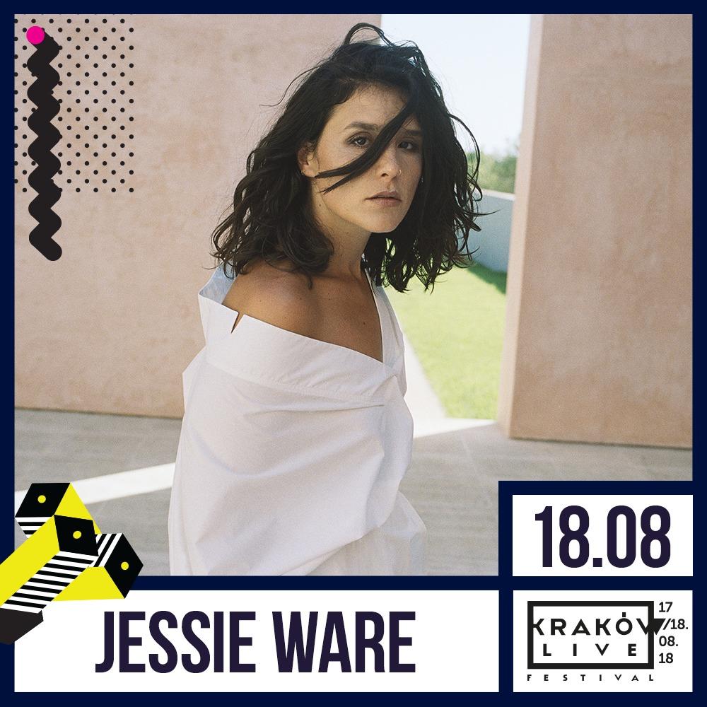 Jessie Ware, Kraków Live Festival 2018 (źródło: materiały prasowe organizatora)