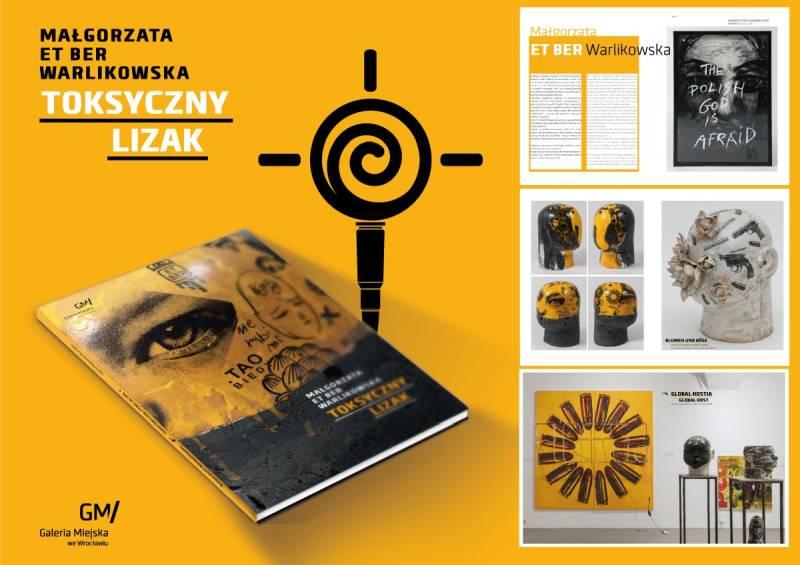 """Katalog wystawy """"Toksyczny lizak"""" (źródło: materiały prasowe organizatora)"""