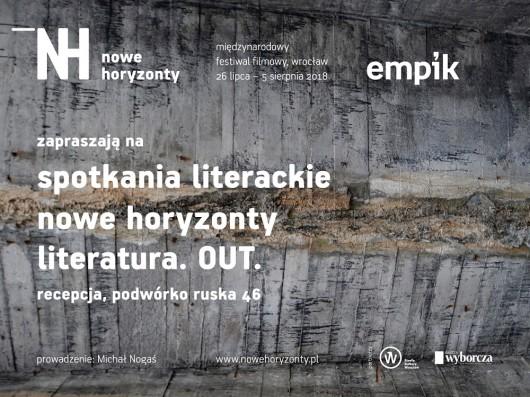 """""""Literatura.OUT"""" na MFF Nowe Horyzonty (źródło: materiały prasowe organizatora)"""