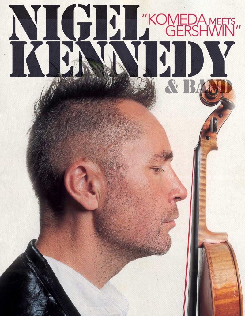 """Nigel Kennedy, """"Komeda meets Gershwin"""" (źródło: materiały prasowe)"""