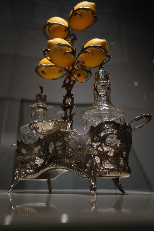 Serwis przyprawowy ze srebra, Muzeum Żup Krakowskich Wieliczka, fot. P. Chwalba (źródło: materiały prasowe organizatora)