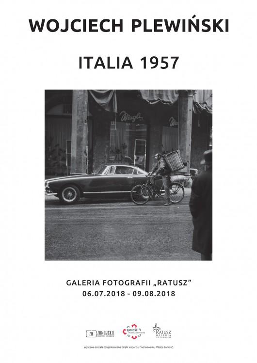 """Wojciech Plewiński, """"Italia 1957"""" (źródło: materiały prasowe organizatora)"""