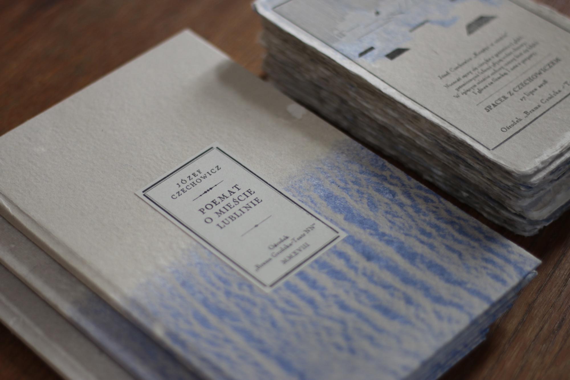 """""""Poemat o mieście Lublinie"""", Józef Czechowicz (źródło: materiały prasowe organizatora)"""