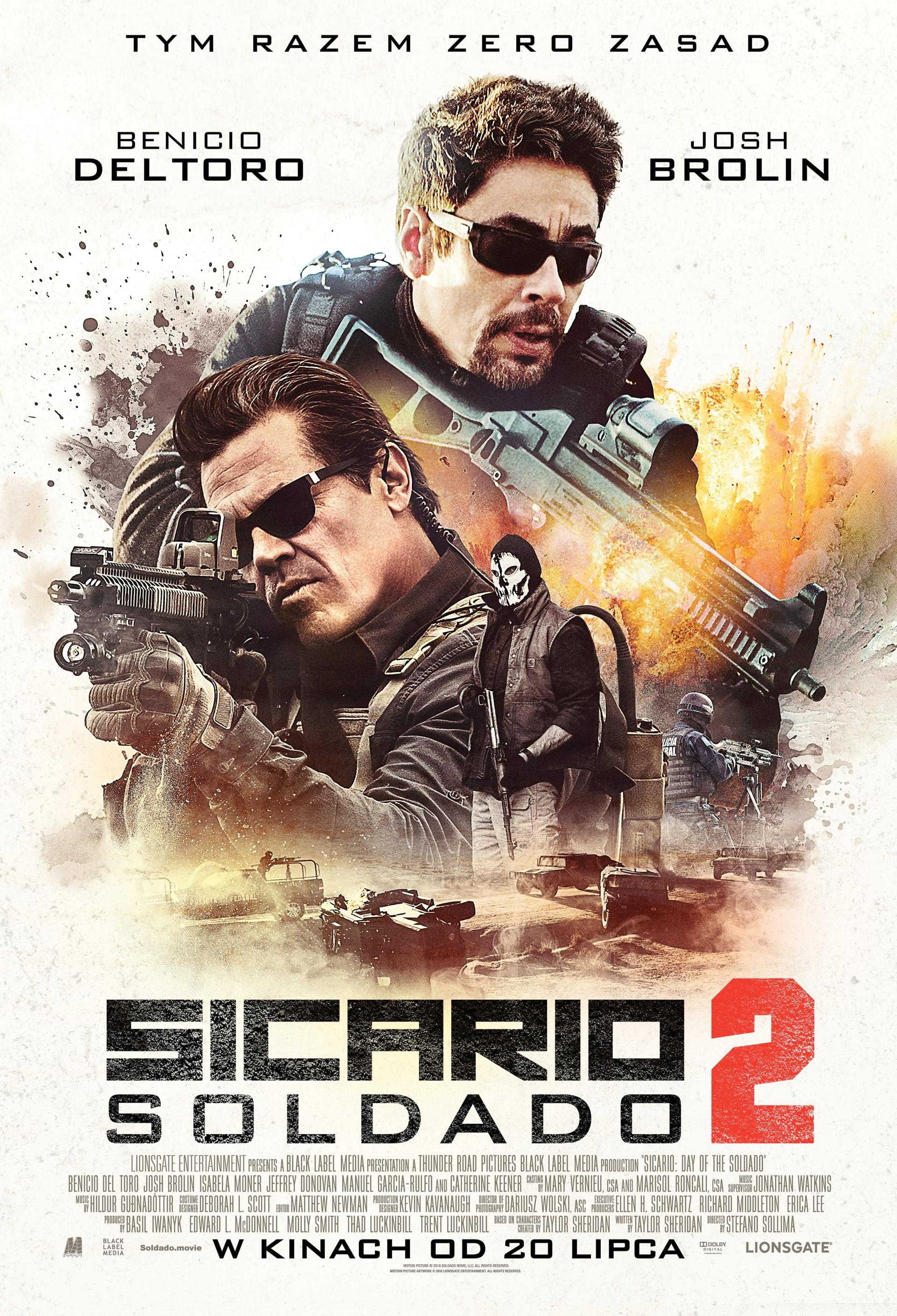 """""""Sicario 2: Soldato"""", reż. Stefano Sollima (źródło: materiały prasowe dystrybutora)"""