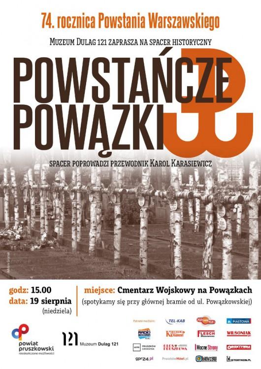 """""""Powstańcze Powązki"""", spacer historyczny, Muzeum Dulag 121 (źródło: materiały prasowe organizatora)"""