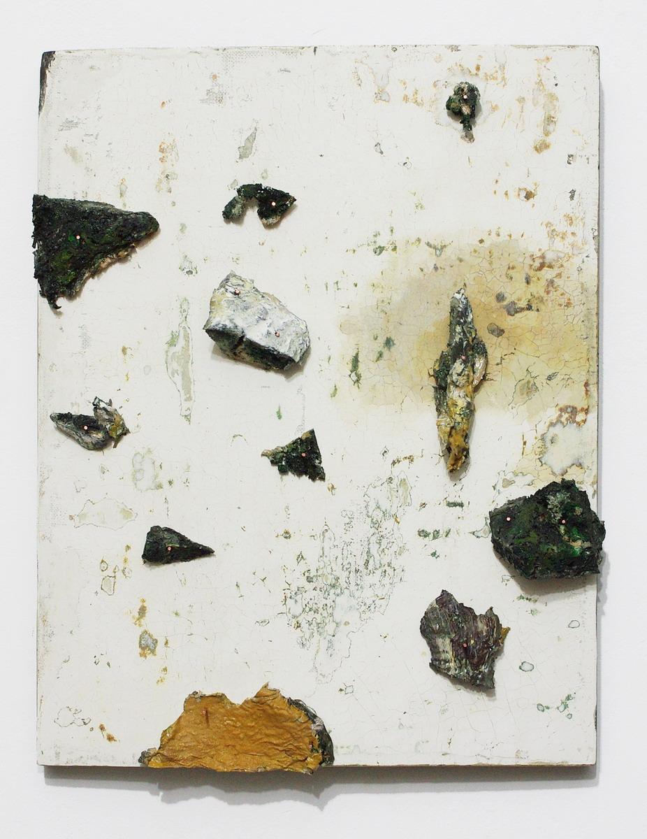 Mikołaj Kowalski, bez tytułu, deska grunt klejowy, farba olejna (źródło: materiały prasowe organizatora)