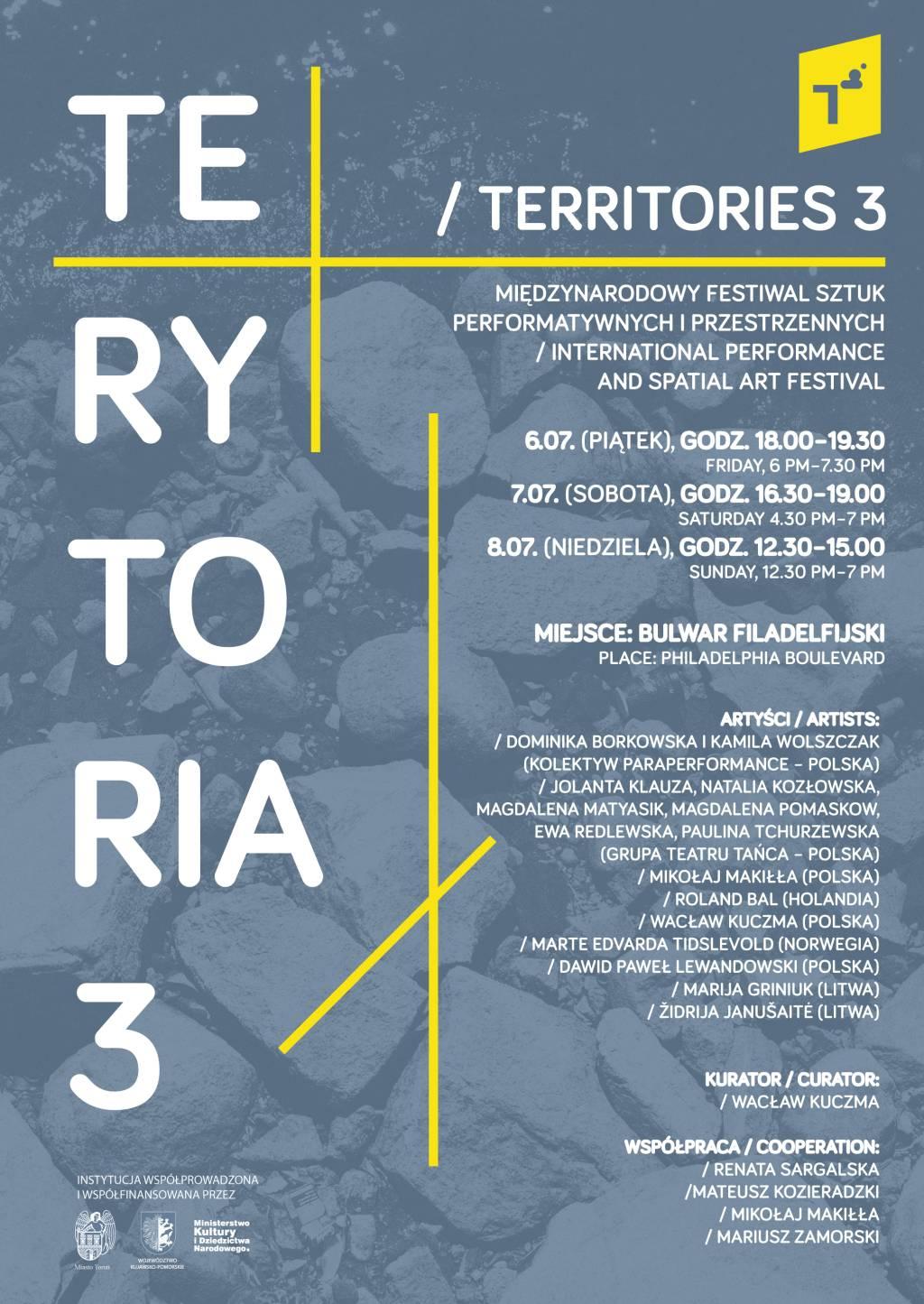Terytoria. Festiwalu Sztuk Performatywnych i Przestrzennych (źródło: materiały prasowe organizatora)