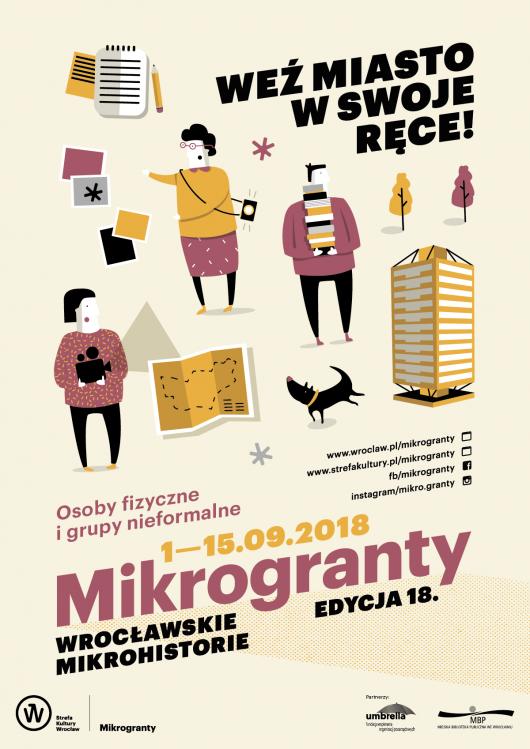 18. Mikrogranty, Wrocław, 2018 (źródło: materiały prasowe organizatora)