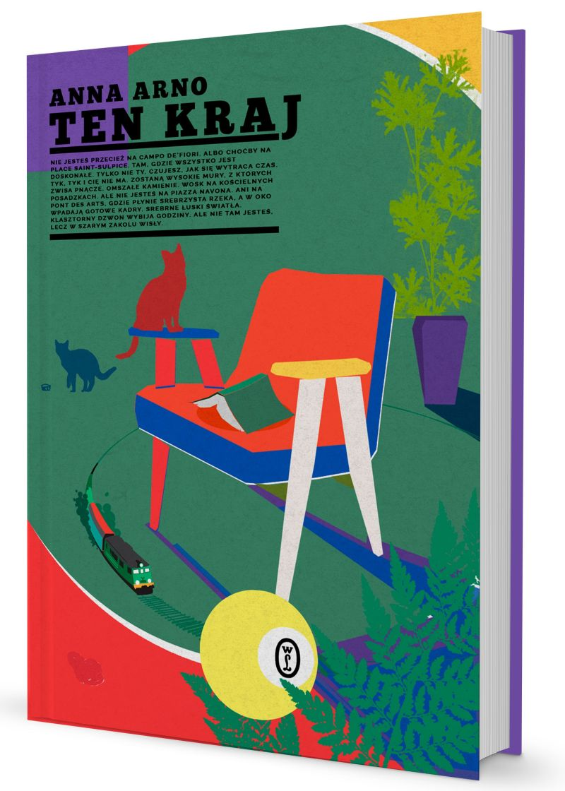 """Anna Arno, """"Ten kraj"""" (źródło: materiały prasowe wydawnictwa)"""