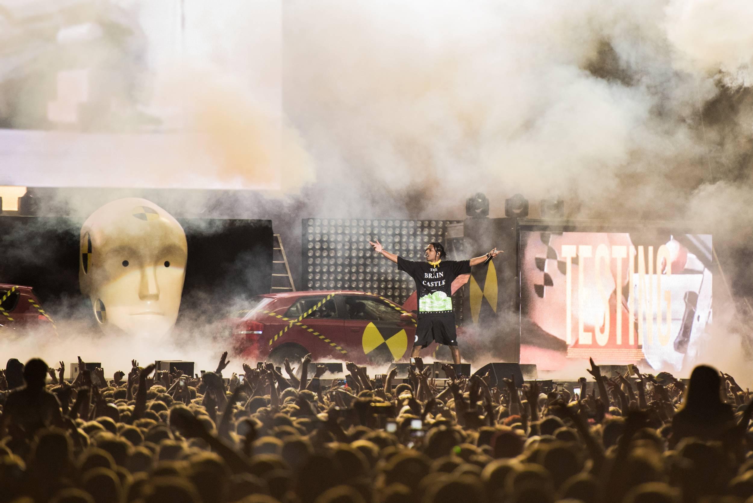 A$AP Rocky, Kraków Live Festival, fot. Stolarska (źródło: materiały prasowe organizatora)