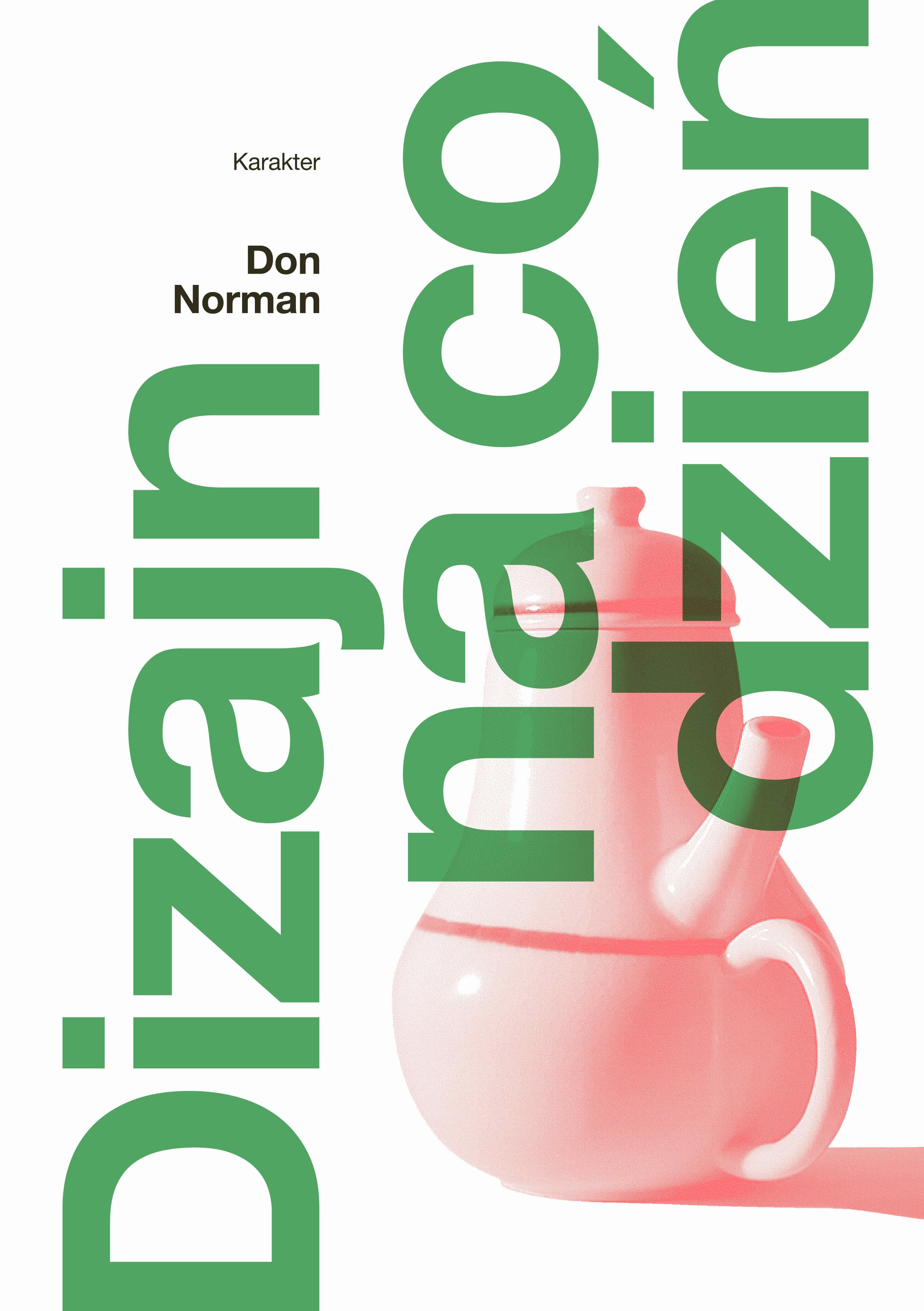 """Don Norman, """"Dizajn na co dzień"""", wydawnictwo Karakter (źródło: materiały prasowe wydawnictwa)"""