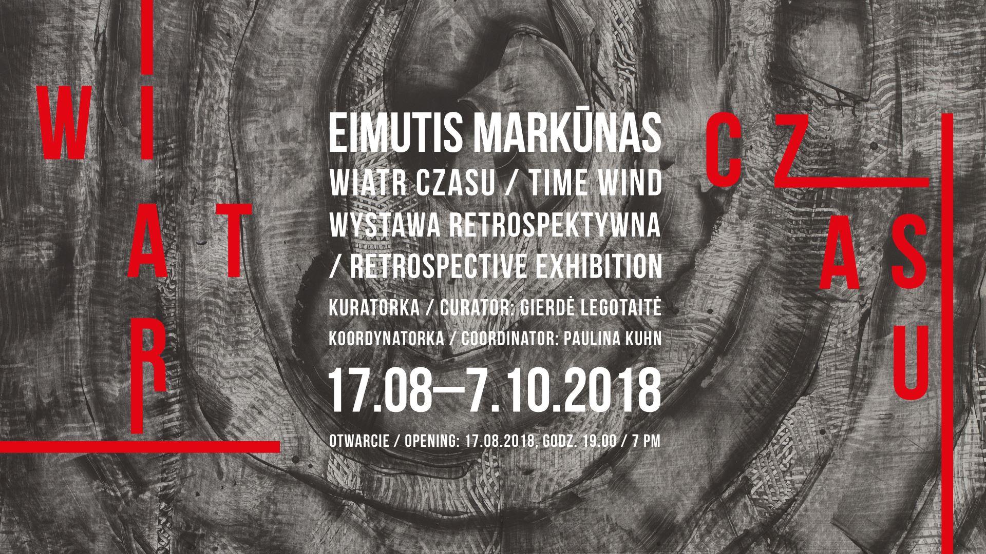 """""""Wiatr czasu. Retrospektywa Eimutisa Markūnasa"""" (źródło: materiały prasowe organizatora)"""