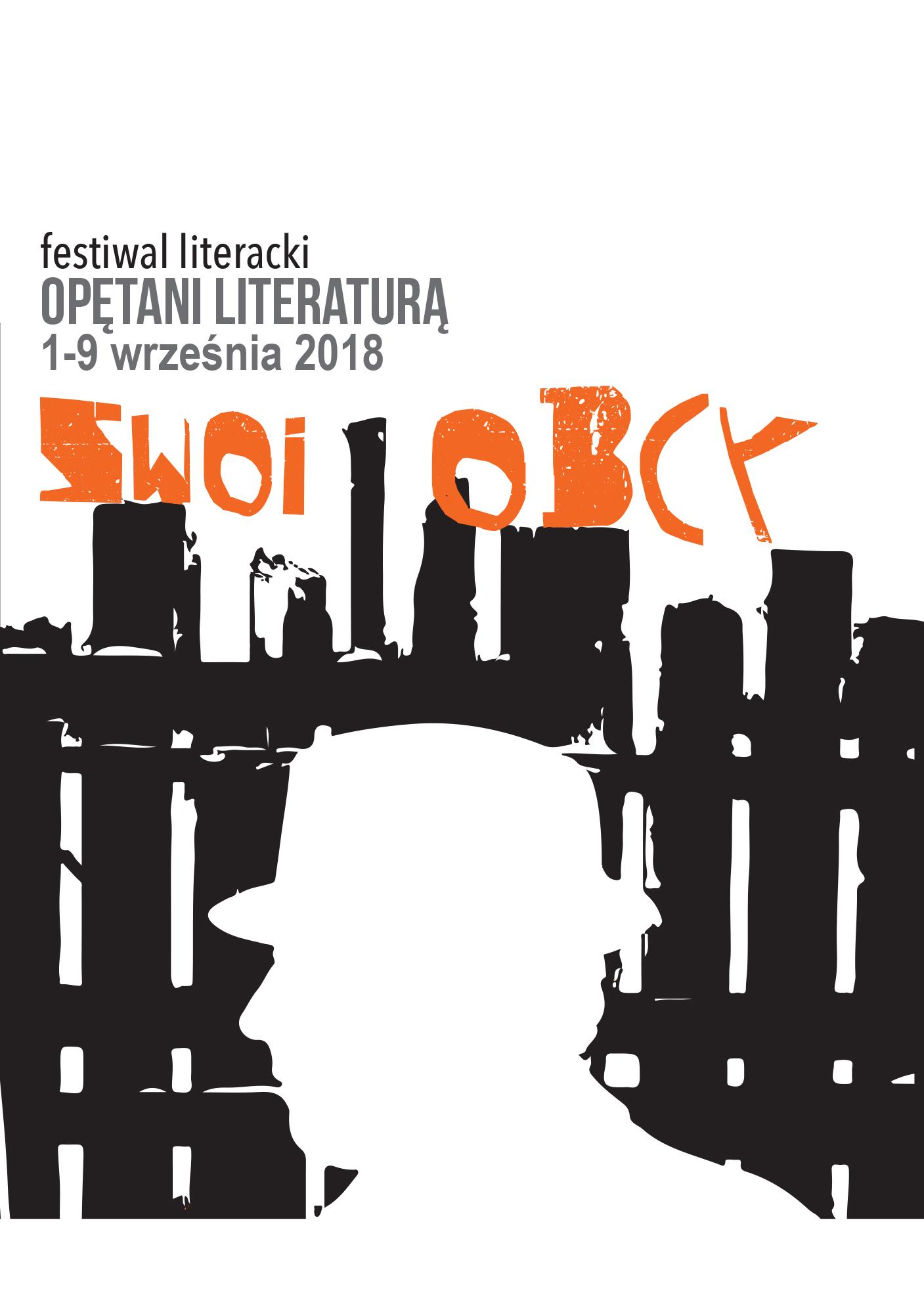"Festiwal ""Opętani Literaturą"", 2018 (źródło: materiały prasowe organizatora)"